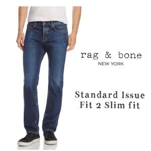 Rag and Bone Standard Issue Fit 2 Slim fit Jeans
